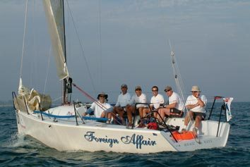 Foreign Affair wins the Mumm 30 World Championship Regatta