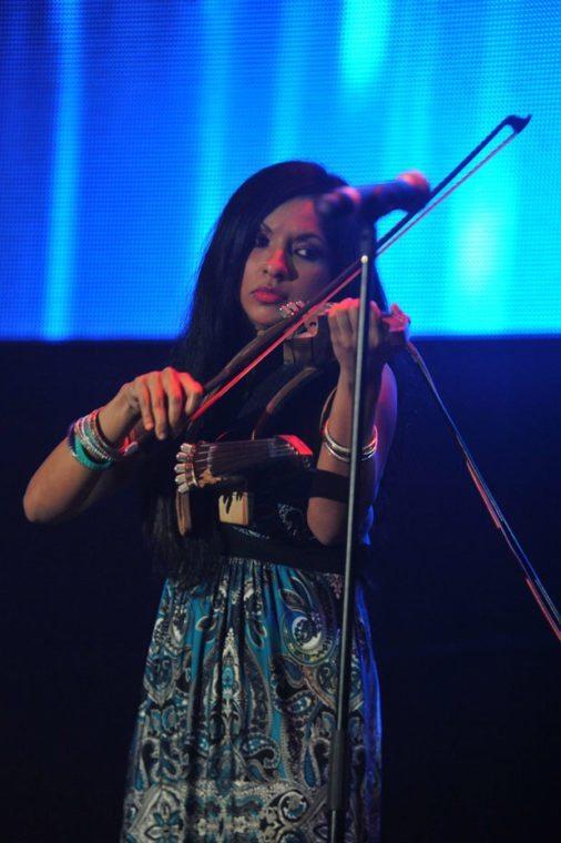 Gingger Shankar, granddaughter of Grammy-nominated