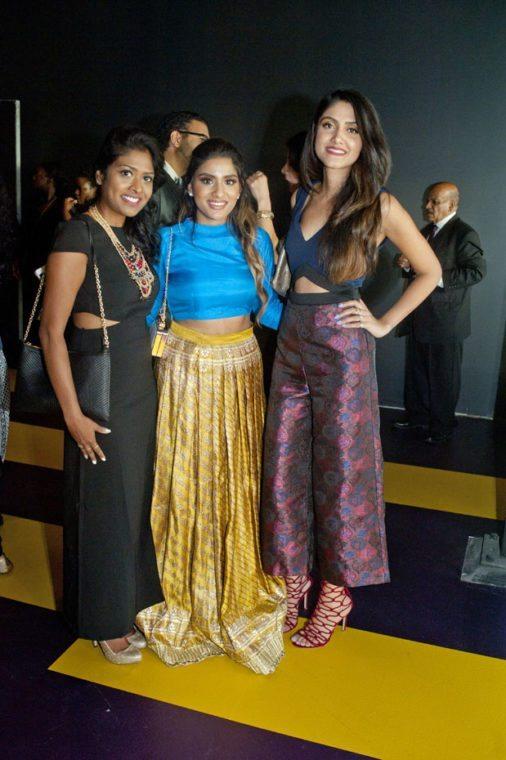 Susan Romroop, Tia Bhatia & Sonam Saad