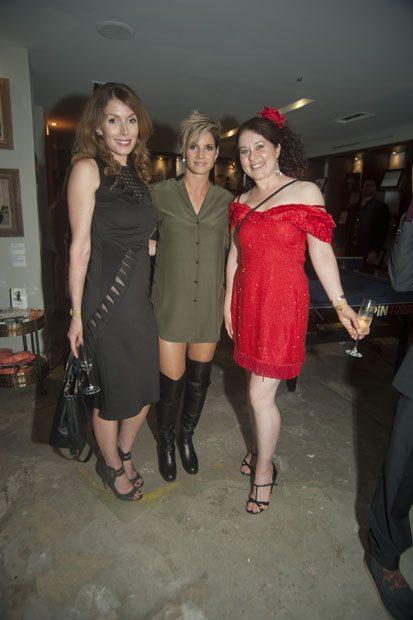 Lauren Hammersly, Missy Peregrym & Jackie English