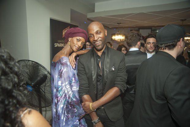 Super Model Yasmin Warsame  &  Kevin Pennant