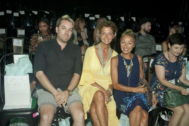 Christian Dore, Erika Larva & Arline Malakian
