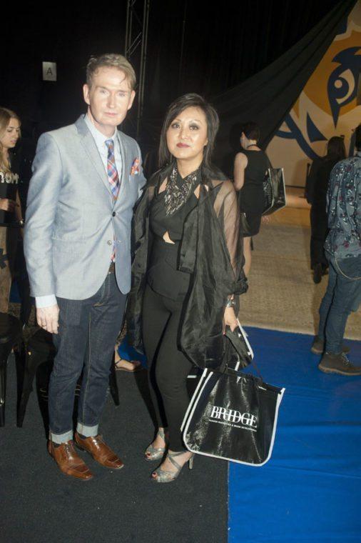 Fashion Designer David Dixon & Toronto Fashion Incubator TFI Susan Langdon