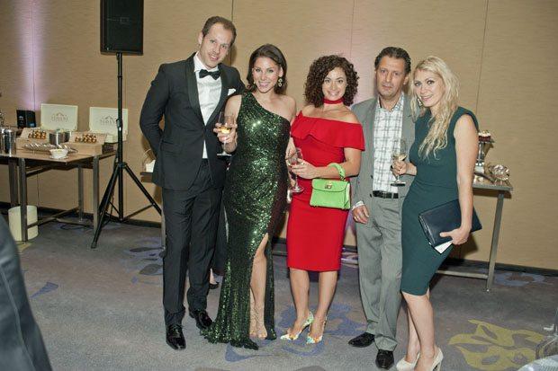 Rob & Rebecca Wise, Medeline, Jeonette & Yury Boltyanshy
