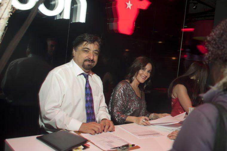 Karim Mirshahi and Laura Bilotta at 2016 NYE