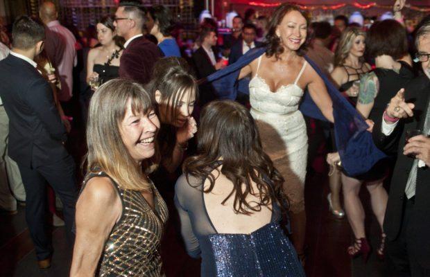 dancefloor at NYE singles party