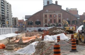 St Lawrence Market archeological dig 16 Jan 2017