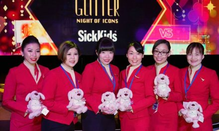 The Glitter Event Held of SickKids