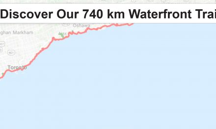 Discover Our 740 km Waterfront Trail