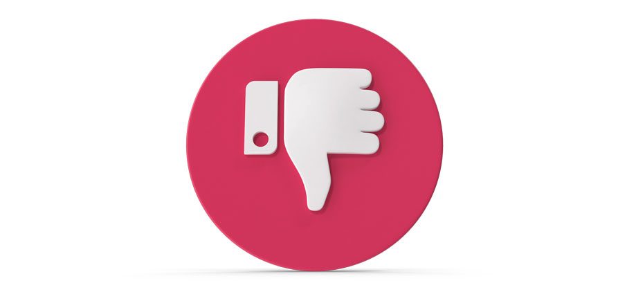What NOT To Do! <span>in Social Media Marketing</span>